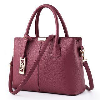 Faux Leather Handbag 1062754707