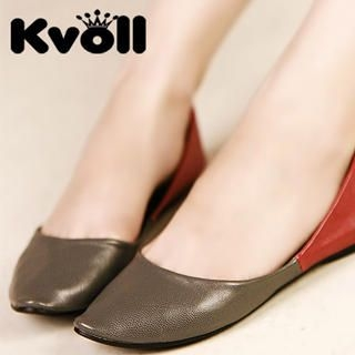 Buy Kvoll Pointy Two-Tone Flats 1023009157