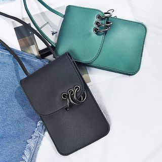 Ring Detail Crossbody Bag