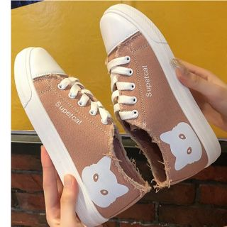 Image of Cat Lace Up Sneakers