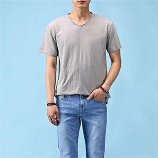 V-Neck Short-Sleeve T-Shirt 1061201053