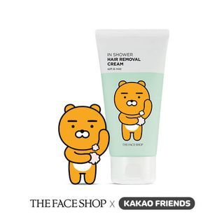 The Face Shop - Kakao Friends In Shower Hair Removal Cream 100ml 1057606371