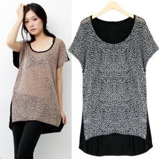 Buy HUE IT GIRL Short-Sleeve Patterned T-Shirt 1022991973