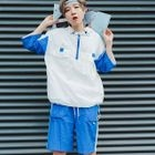 Set: Hooded Windbreaker + Shorts 1596