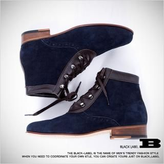 Picture of Style Impact Faux-Suede Ankle Boots 1021540642 (Boots, Style Impact Shoes, Korea Shoes, Mens Shoes, Mens Boots)