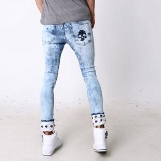 Buy moscod Washed Print Skinny Jeans 1022809823