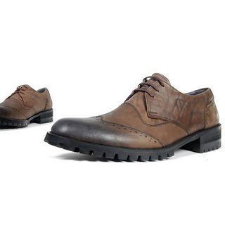 Buy deepstyle Genuine Leather Handmade Oxfords 1022183566