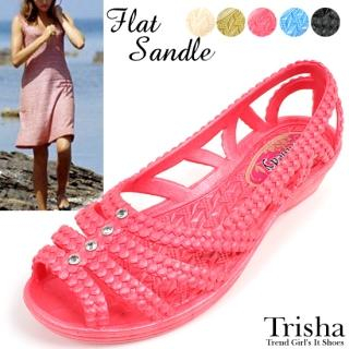 Buy Trisha Bejeweled Jelly Sandals 1022771053