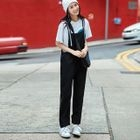 Wide-Leg Jumper Pants 1596