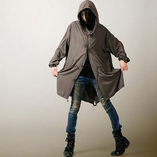 Picture of deepstyle Oversized Hood Jacket 1022425310 (deepstyle, Mens Outerwear, Korea)