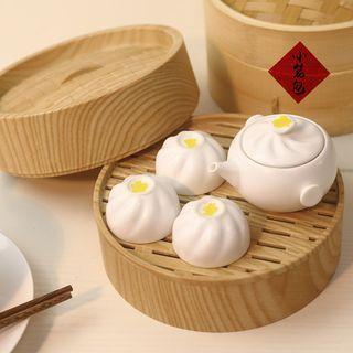 Dim Sum Teapot Tea Cup Set 1061436150