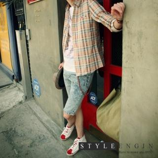Buy Style Engine Denim Shorts 1022754265