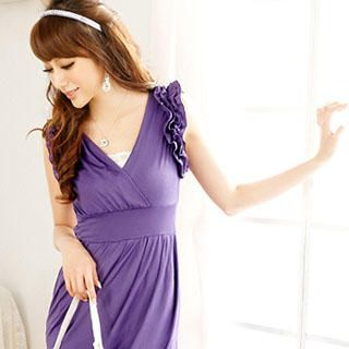 Buy Reiko Ladies Ruffle V-Neck Sundress 1022804132
