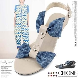 Picture of Chione T-Strap Sandals 1022970233 (Sandals, Chione Shoes, Korea Shoes, Womens Shoes, Womens Sandals)