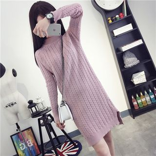 Ribbed Knit Dress 1057186962