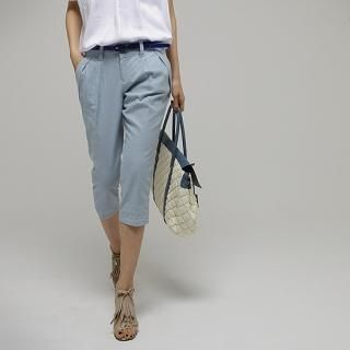 Buy STYLEKELLY Cropped Linen Blend Trousers 1022730297
