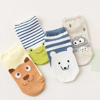 Animal Print Socks Set 1057395015