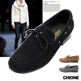 Picture of Chione Faux-Suede Loafers 1021474879 (Loafer Shoes, Chione Shoes, Korea Shoes, Womens Shoes, Womens Loafer Shoes)