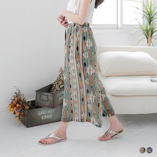 Chiffon Wide-Leg Pants 1053746366