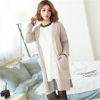 V-Neck Long Cardigan 1596