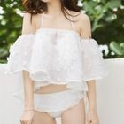 Set: Frilled Bikini + Cover-up 1596