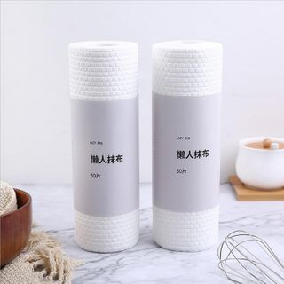 Image of Disposable Kitchen Towel 1 Roll - 50 Pcs - As Shown In Figure - One Size