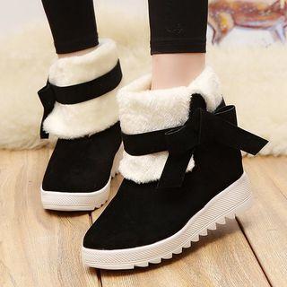 Platform   Short   Snow   Boot
