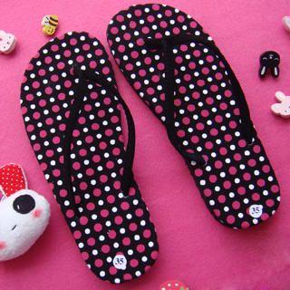 Buy SHY SHY Polka Dot Print Sandals 1022852950