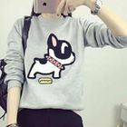 Dog Printed Pullover от YesStyle.com INT