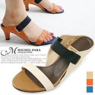 Picture of MICHEL PARA COLLECTION Banded Mules 1022937933 (Other Shoes, MICHEL PARA COLLECTION Shoes, Korea Shoes, Womens Shoes, Other Womens Shoes)