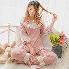 Pajama Set: Ruffle Top + Pants 1596