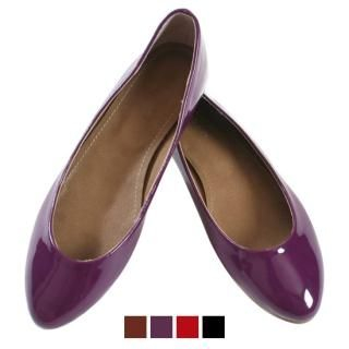 Buy Blingstyle Shoes Patent Flats 1021448993
