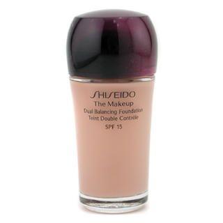 Buy Shiseido – The Makeup Dual Balancing Foundation SPF15 B40 Natural Fair Beige
