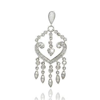 18K White Gold Pendant with Diamonds picture