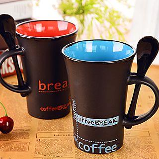 Ceramic Mug with Spoon 1049057830