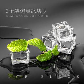 Image of Artificial Ice Cube Photography Props As Shown In Figure - 6 pcs