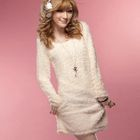Fleece Knit Dress