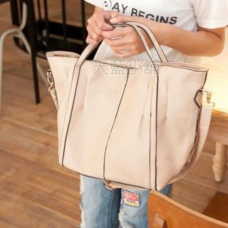 Faux-Leather Tote