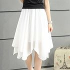 Asymmetric A-Line Skirt 1596