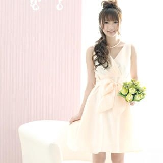 Buy 59 Seconds Wrap-Front Bow-Tie Dress 1021409406