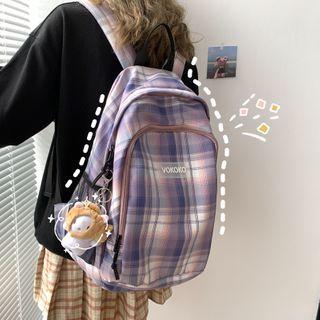 Backpack | Plaid