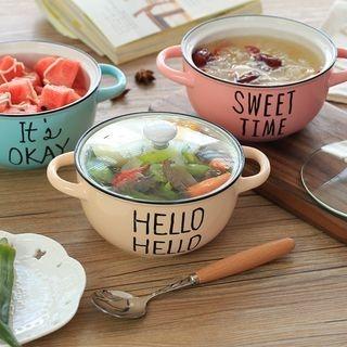 Set: Lettering Bowl + Lid 1065188035
