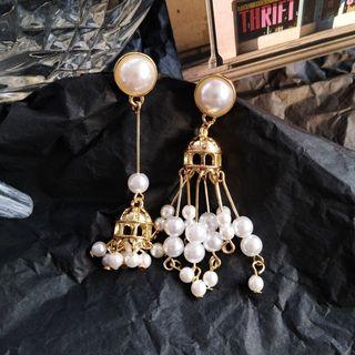 Earring   Pearl   Faux