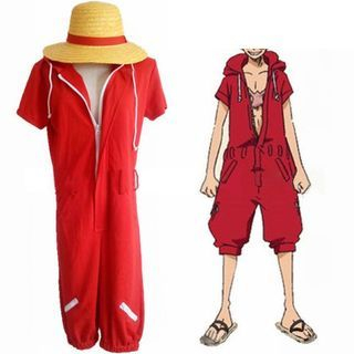 One Piece Monkey D. Luffy Cosplay Costume 1056694251