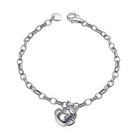 Bling Bling Platinum Plated 925 Silver Lovely Baby Milk Bottle Bracelet от YesStyle.com INT