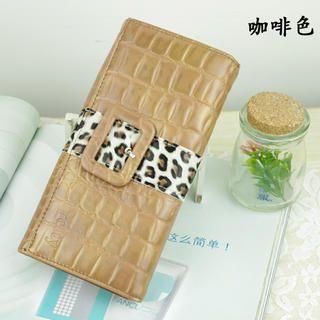 Leopard-Print Wallet