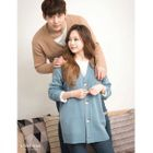 Colored V-Neck Cardigan 1596