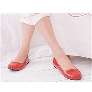 Buy Lane172 Round-Tote Patent Leather Flats 1021373729