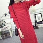 Ribbed Knit Dress 1596