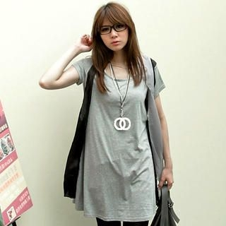 Buy MYHEART Chiffon-Overlay T-Shirt Dress 1022963601